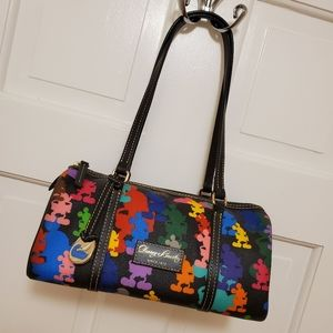 Dooney and Bourke Disney Mickey Barrel Bag